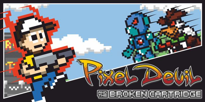 Pixel Devil and the Broken Cartridge for Nintendo Switch