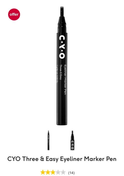 CYO Three & Easy Eyeliner Marker Pen