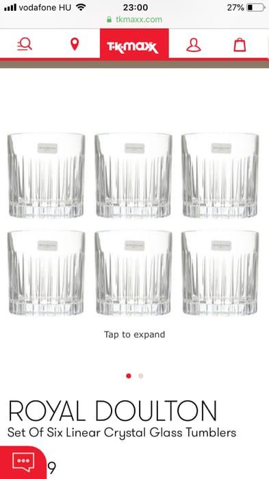 Tk Maxx - Royal Doulton Glasses