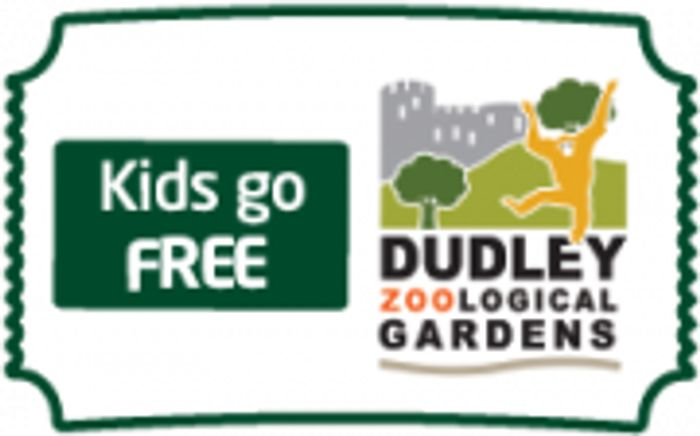 Kids Go Free with Adult Ticket at Dudley Zoo
