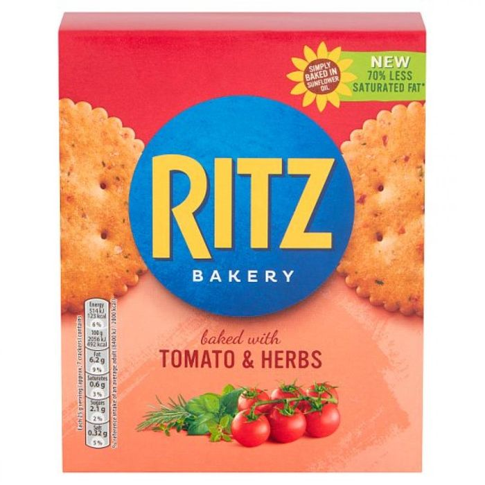 SATURDAY SPECIAL Ritz Baked with Tomato and Herb 175g
