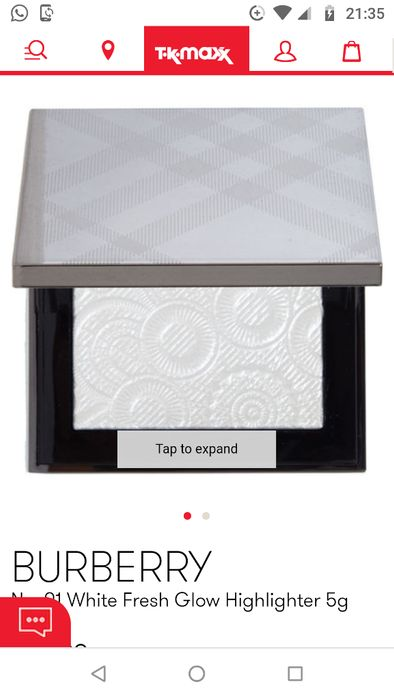 Burberry No. 01 White Fresh Glow Highlighter 5g £24.99