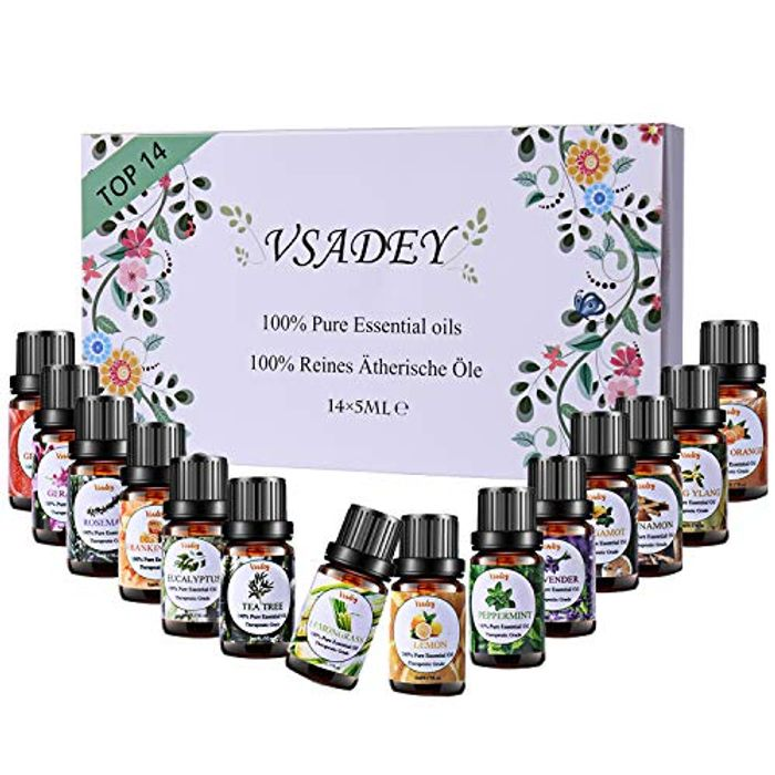 Deal Stack - 14 x Pure Essential Aromatherapy Oils - 28% Off with Code