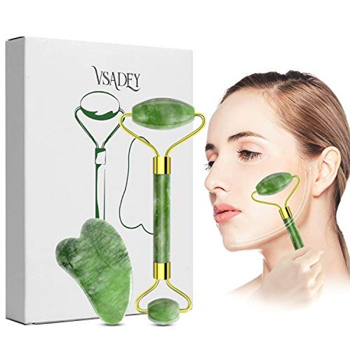 Jade Roller Anti-Ageing Massager - 30% Off