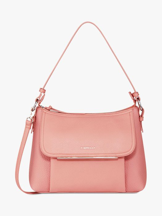 Fiorelli Ella Cross Body Bag, Nude/Black - 30% Off