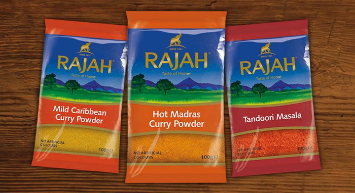 Rajah Spices for 50p