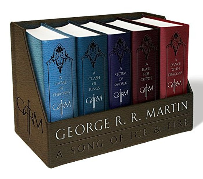 A Game of Thrones Leather-Cloth Boxed Set - 40% Off