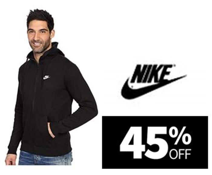45% off - NIKE Men's Sportswear Club Full Zip Hoodie