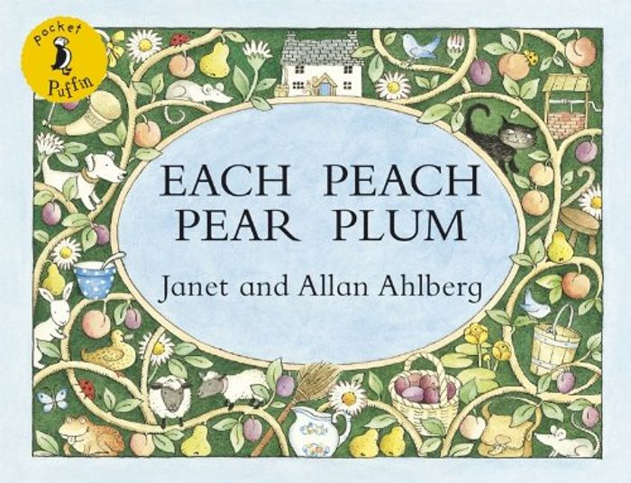 Each Peach Pear Plum (Pocket Puffin) Paperback