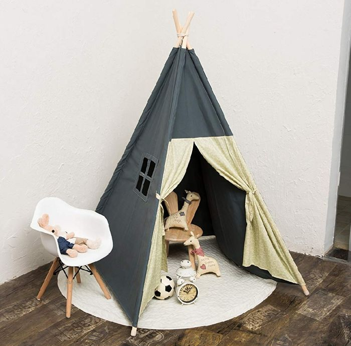 Children's Play Tent Teepee with Window