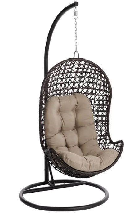 £50 Off Wilko Palma Hanging Garden Egg Chair