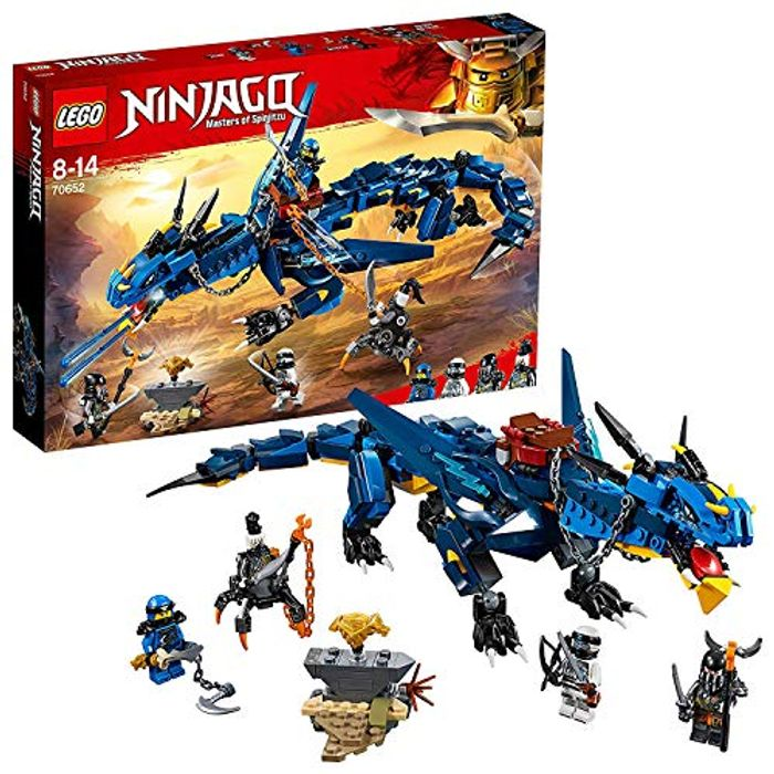 £11 OFF & FREE DELIVERY - LEGO NINJAGO Stormbringer Dragon **4.8 STARS**