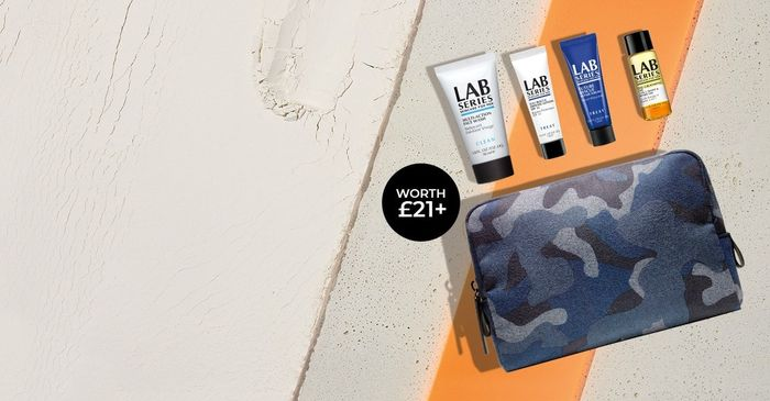 Free 5-Piece Travel Kit When You Spend £40+