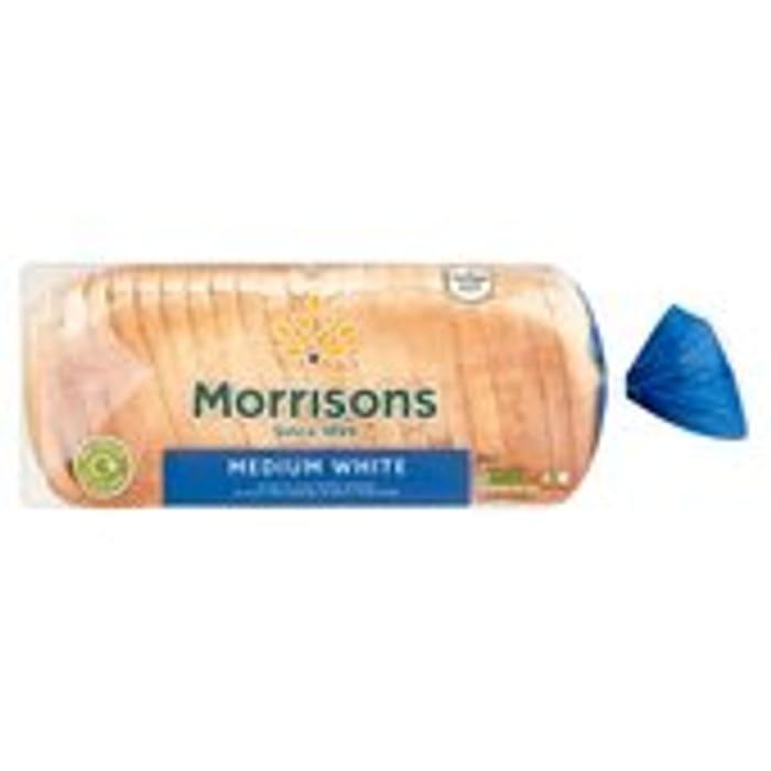 Morrisons Medium White Loaf 800g