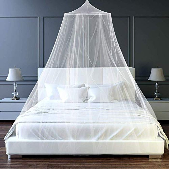 Mosquito Mesh Net Easy Installation Netting for Single to King Size
