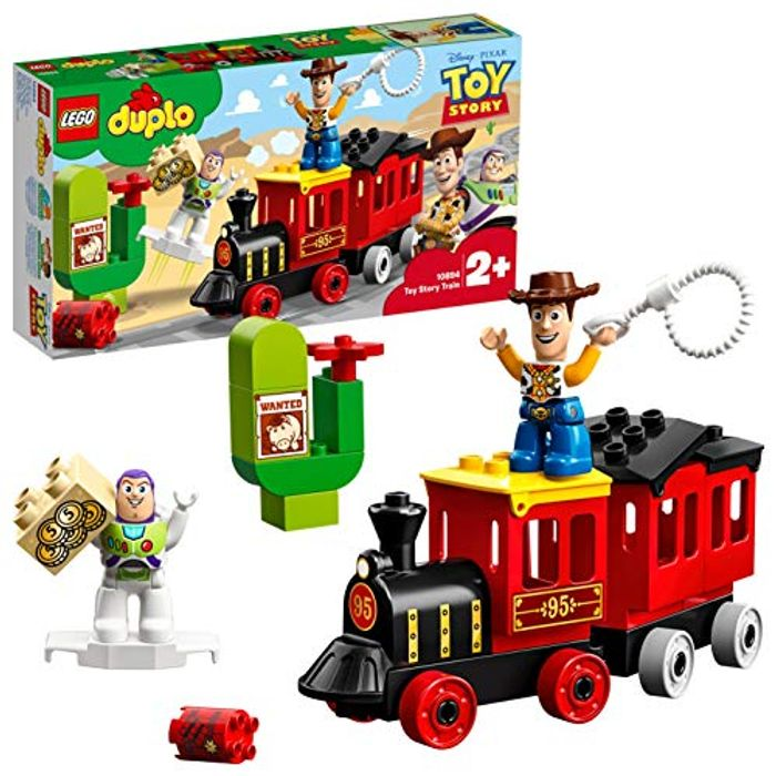 Lego DUPLO Toy Story 10894 Story 4 Train with Buzz and Woody Figures