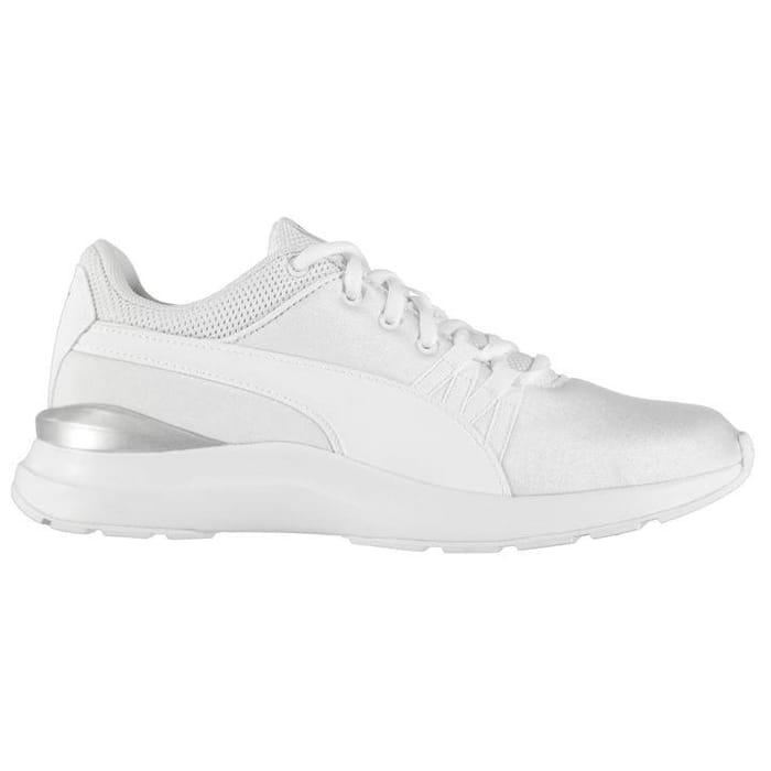 puma white trainers sports direct