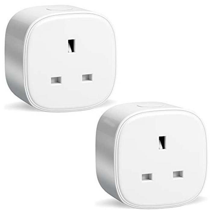 2-PackS Meross Smart Wi-Fi Plug Energy Monitor, £14 99 at Amazon