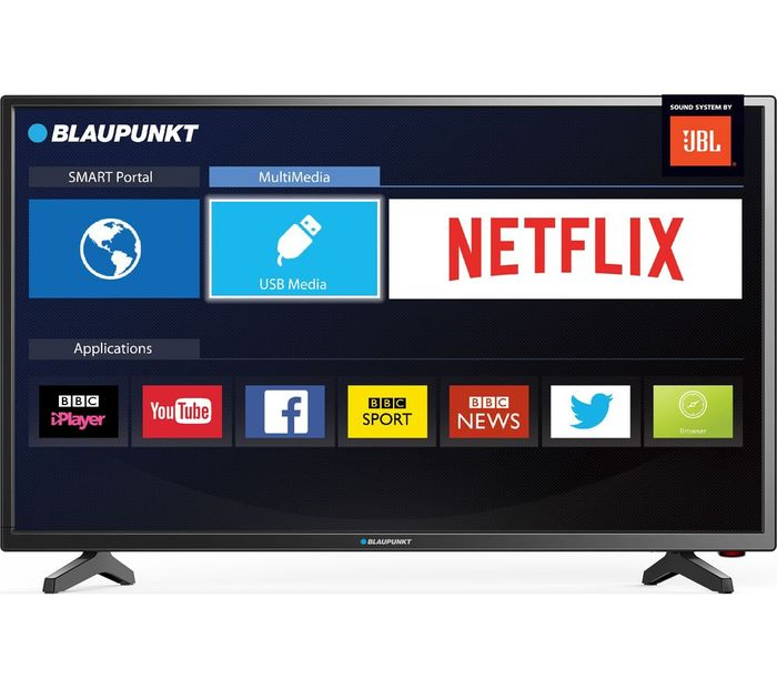 "BLAUPUNKT 40"" Smart LED TV with Freeview HD"