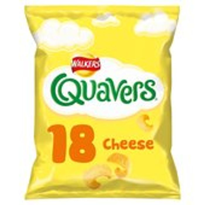 Walkers Quavers 18 X 16g Now Half Price At Morrisons