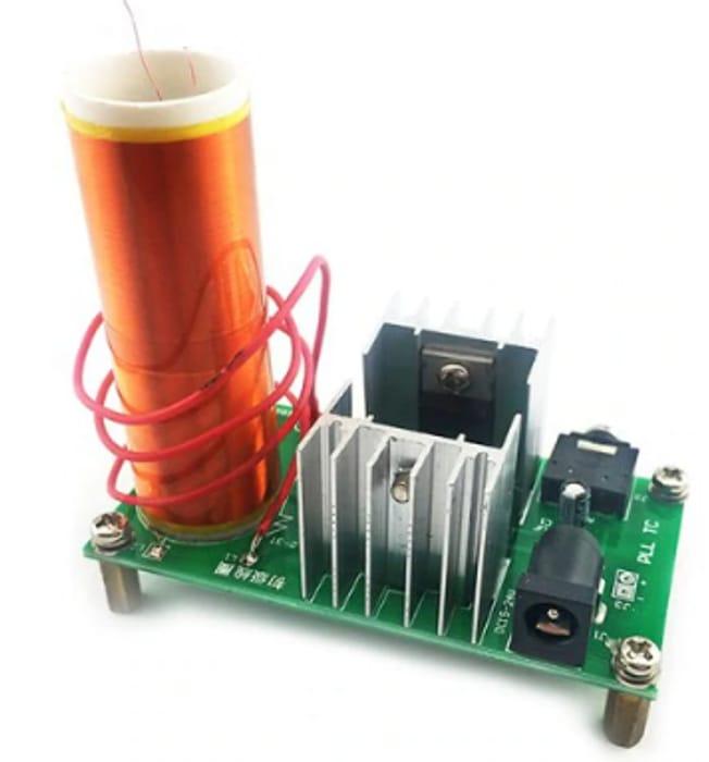 Tesla Coil Kit Mini DIY Electronics- Free Shipping