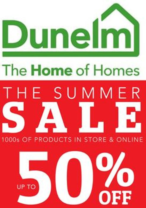 Dunelm's Summer Sale is on Now - up to 50% Off