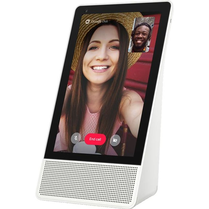 "Lenovo Smart Display with Google Assistant - 10"" Screen - Bamboo"