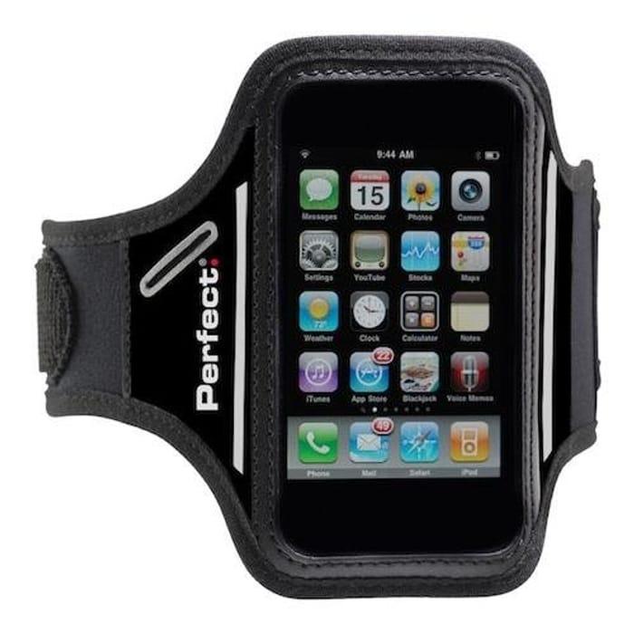 Perfect Fitness Unisex Phone Armband-Black,add on Item