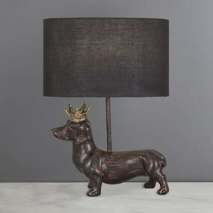 Anzo Daschund / Sausage Dog Table Lamp Was £22 Now £17.60