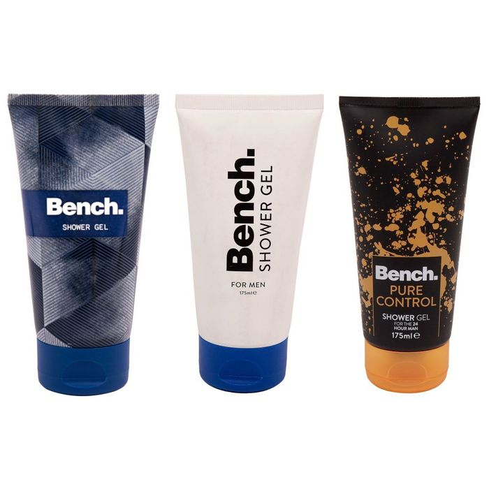 Bench Mens Body Wash Fragrance Shower Gel 175 Ml Different Scents
