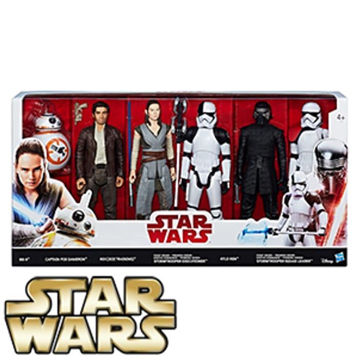 Star Wars the Last Jedi 6 Figure Pack
