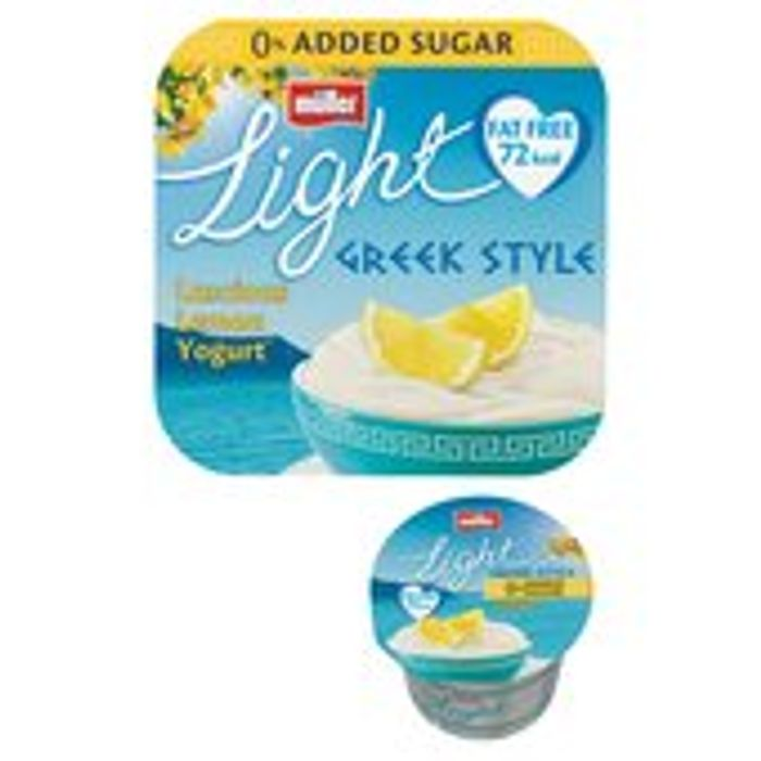 Muller Light Greek Style Luscious Lemon Yoghurts 4 X 120g - Save £1.50