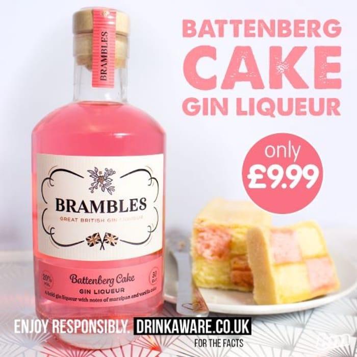 Battenberg Cake Flavour Gin Liqueur £9.99 a Bottle
