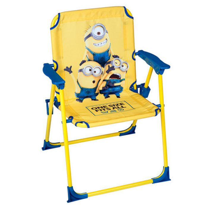 Cheap Despicable Me Kids Garden Chair at CLEARANCE XL on Sale From £15 to £3.99