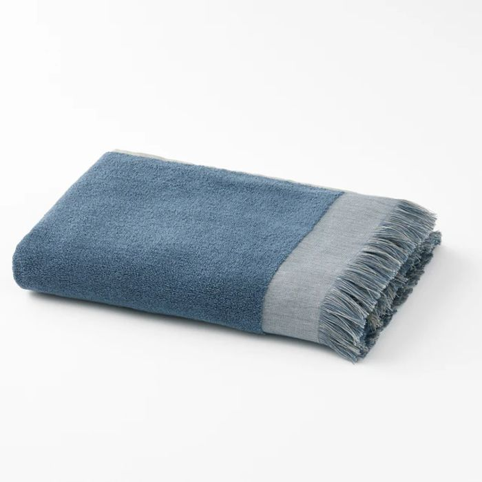 Hammam Fringed Cotton Terry Hand Towel - HALF PRICE
