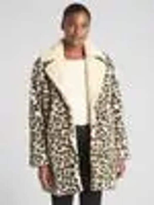 Gap Leopard Coat