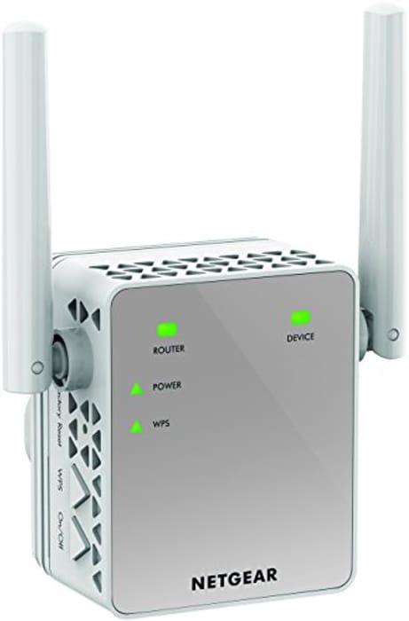NETGEAR Wi-Fi Range Extender EX3700 - Save £13