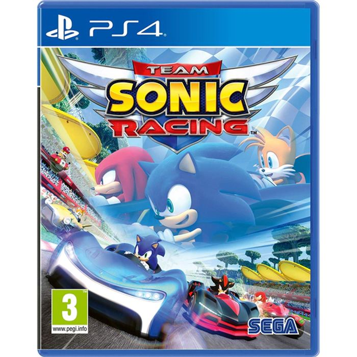 Team Sonic Racing PS4 Game - Save £7