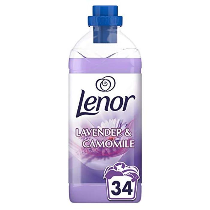 Lenor Conditioner Lavender & Camomile 34 Washes - Save £1