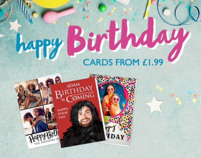 25% off Cards at Funky Pigeon