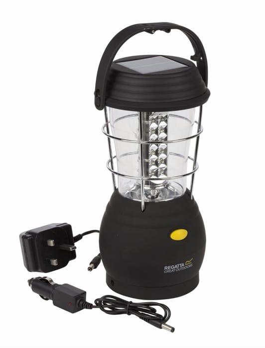Regatta - Black Helia Solar Lantern Uk