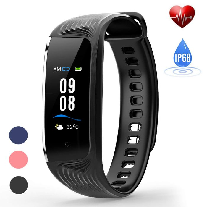 Deal Stack - Waterproof Fitness Tracker - 20% off + Extra 50%