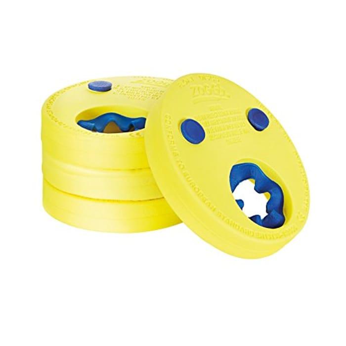 Zoggs Kids Lightweight Comfortable Foam Float Discs Swimming Arm Bands 2-6 Years