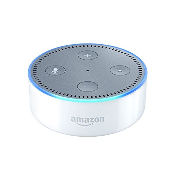 Certified Refurbished Amazon Eco Dot (2nd Gen) with 90 DAYS FREE AMAZON MUSIC
