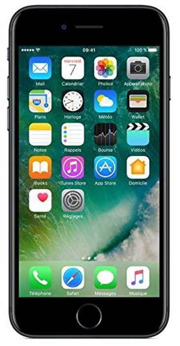 Apple iPhone 7 SIM-Free Smartphone Black 128GB