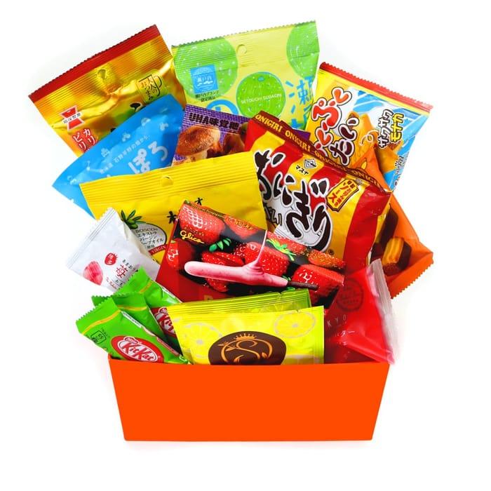 Free Sampler Box of Japanese Snacks