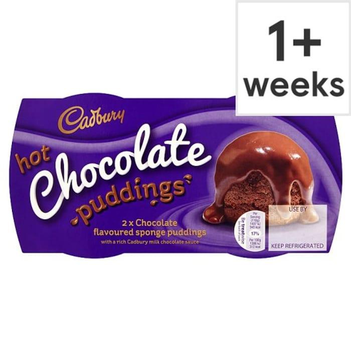 Cadburys 2 X Hot Chocolate Puddings For 1 At Tesco