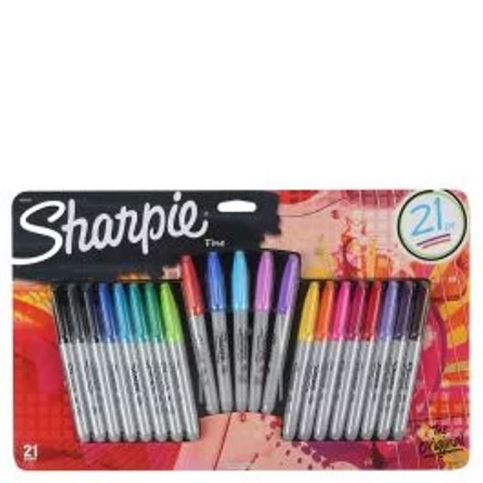 Sharpie Fine Pens - Pack of 21