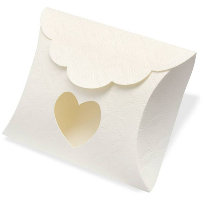 Heart Quilted Pillow Boxes 10 Pack