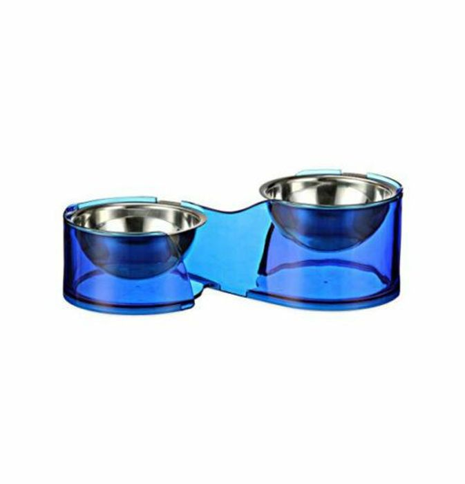 Hilo Duo Felli Removable Stainless Steel Food Bowl 250ml Pack of 2